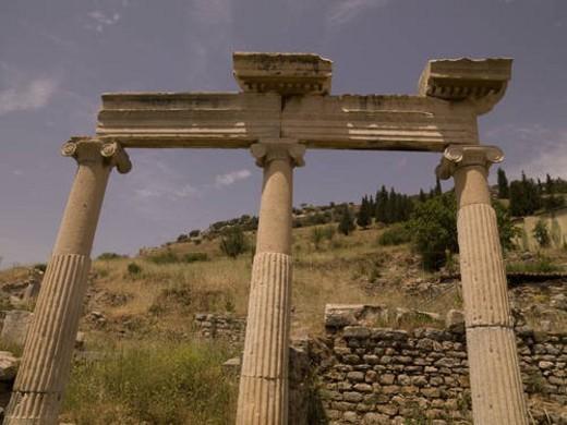 Stock Photo: 4029R-354720 Ephesus in Kusadasi Turkey