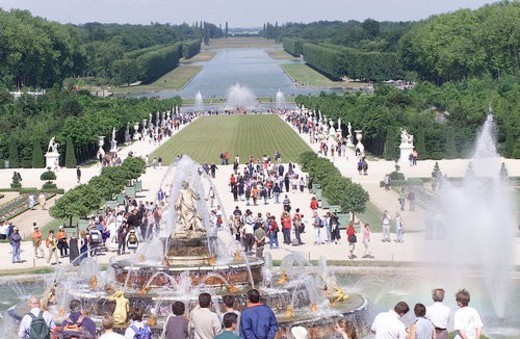 Stock Photo: 4029R-36326 Chateau de Versailles, France