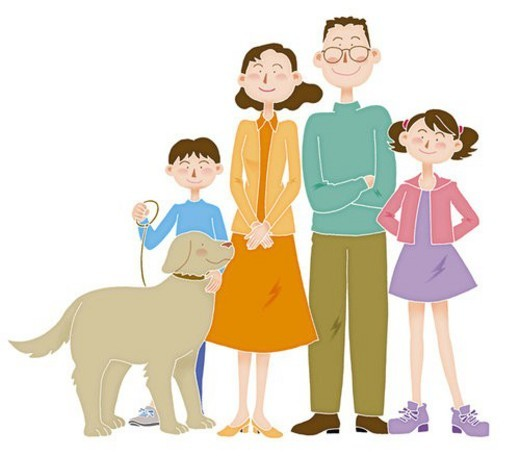 Family Image, Illustration : Stock Photo