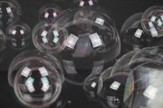 transparent, background, liquid, clean, soap bubble, bubble : Stock Photo