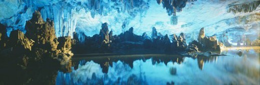 Stock Photo: 4029R-368193 Reed Flute Cave in Guilin