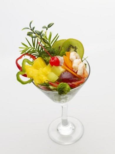Stock Photo: 4029R-371717 plant, fruit, plants, glass