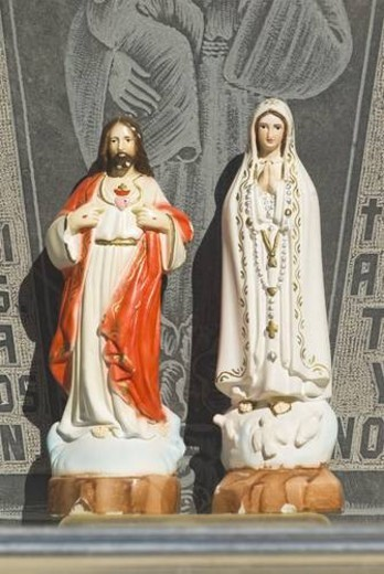 Jesus and Mary icons : Stock Photo