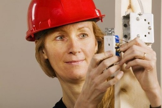 Woman at work : Stock Photo