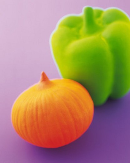 Stock Photo: 4029R-377946 Clay Craft, Vegetables, Close Up