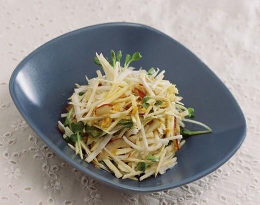 korea culture, cuisine, muchim, korean cuisine, korean food, food : Stock Photo