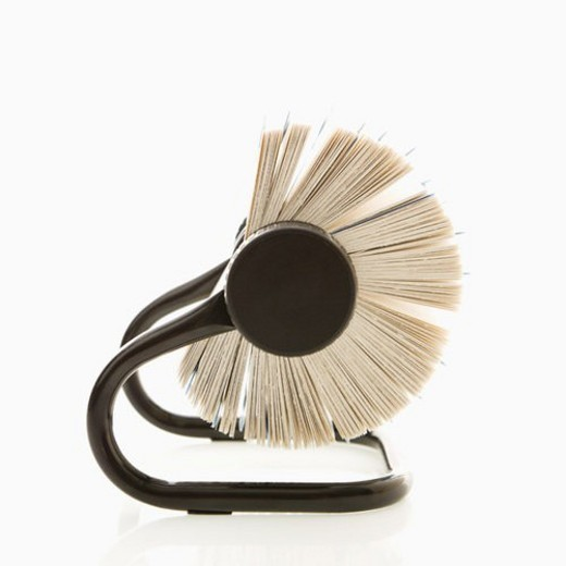 Side view of rolodex. : Stock Photo