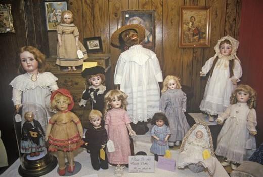 Antique Dolls : Stock Photo