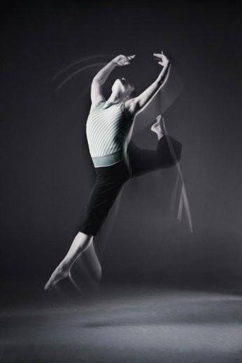 Creative dance : Stock Photo