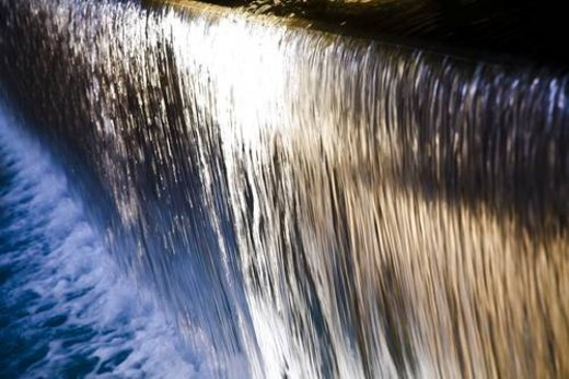 Stock Photo: 4029R-39137 Waterfall