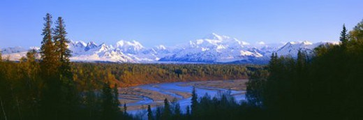 Mount McKinley : Stock Photo