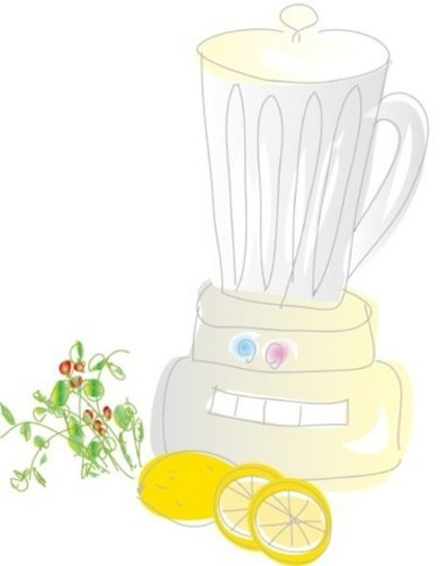 Juicer, Illustrative Technique : Stock Photo