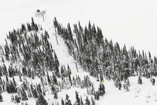 Stock Photo: 4029R-403960 Ski lift