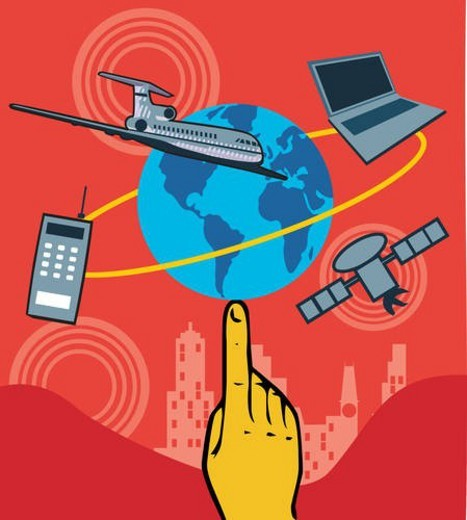Stock Photo: 4029R-410044 Collage featuring technologies
