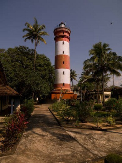 Lighthouse in Alleppey, Kerala, India : Stock Photo
