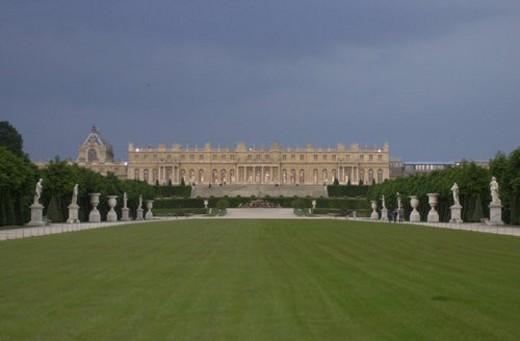 Stock Photo: 4029R-416486 Chateau de Versailles, France