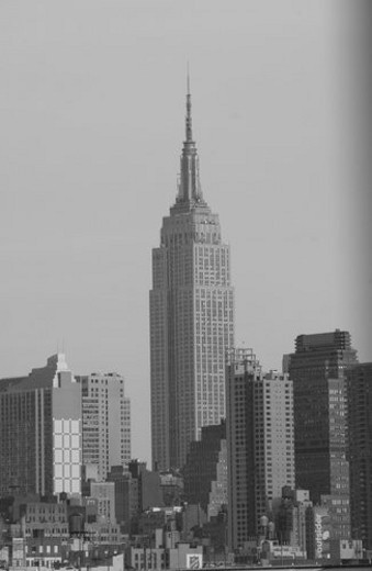 Stock Photo: 4029R-416560 New York City - Empire State Building