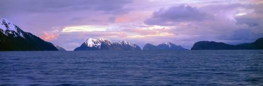 Stock Photo: 4029R-418539 Resurrection Bay and Kenai Fjords National Park