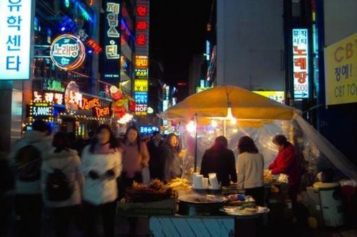city scenery, light, landscape, scenery, city, night : Stock Photo