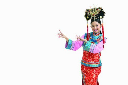 Clipping Path, China, Happiness : Stock Photo