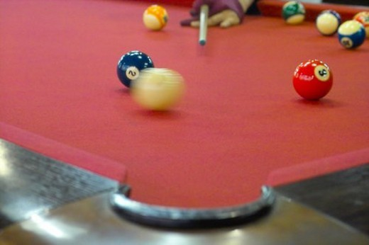 ball, sports, billiards, billiard ball, game, leisure : Stock Photo