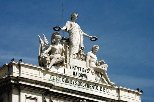 Europe, European city, Portugal, Lisboa, City, Town, Architecture : Stock Photo