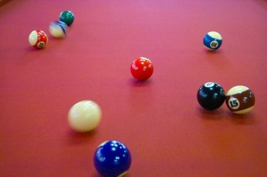 Stock Photo: 4029R-435361 leisure sports, sport supply, leports, pocket billiards, ball game, leisure