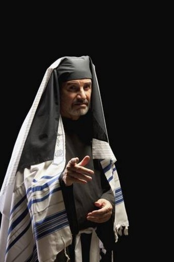 man depicting a bible character : Stock Photo