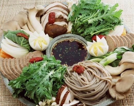 Stock Photo: 4029R-441351 traditon, cuisine, korea culture, korean cuisine, korean food, food
