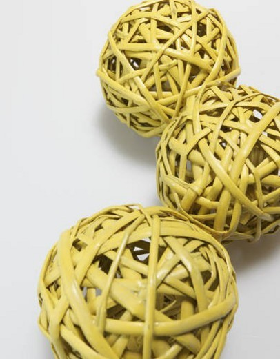 Stock Photo: 4029R-443023 Wooden Decorative Balls