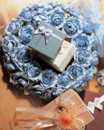 present box, gift, object, love, heart, film : Stock Photo