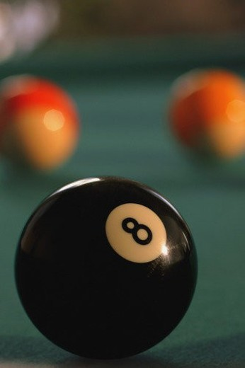 Stock Photo: 4029R-462839 Eight ball