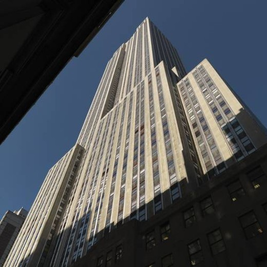 Stock Photo: 4029R-465143 Empire State Building in Manhattan, New York City, U.S.A.