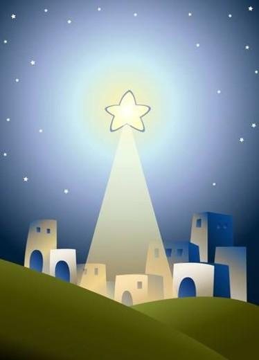 Sunday School Illustration : Stock Photo