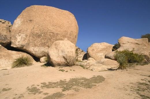 Rocky desert : Stock Photo