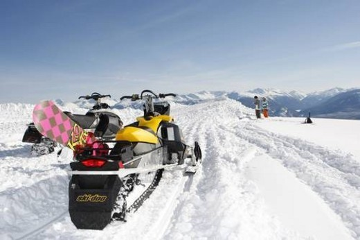 Stock Photo: 4029R-50942 skidoo