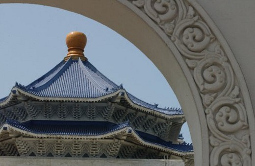 Stock Photo: 4029R-54743 Chiang Kai-Shek Memorial Hall