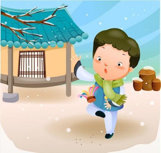Korean dress, korean, national holiday, traditions, traditional, new year : Stock Photo