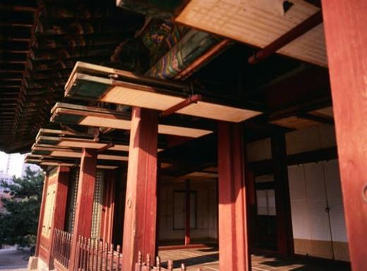 asia architecture, korean architecture, world ancient architecture, window, tradition, korea architecture, korea : Stock Photo