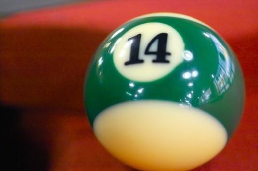 Stock Photo: 4029R-61231 billiards, leisure, billiard ball, game, sports, ball, 14