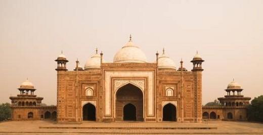Taj Mahal, Agra India : Stock Photo