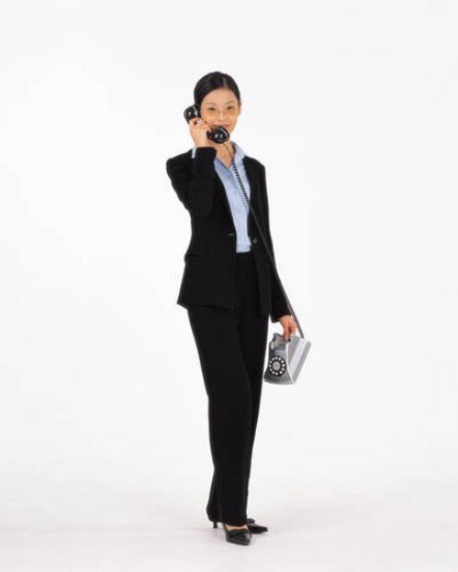 Stock Photo: 4029R-67160 Business, character, women, woman, person, Office worker, characters