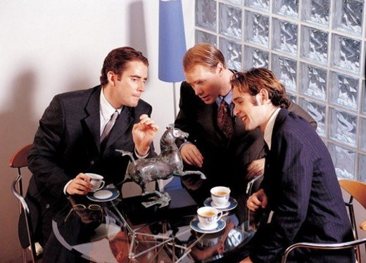 executive, professionals, work, metallic, indoors, workers : Stock Photo
