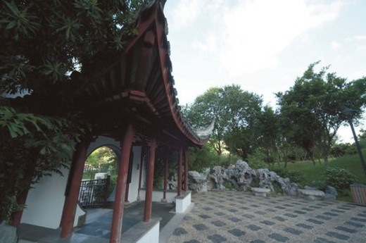 Kowloon Walled City Park : Stock Photo