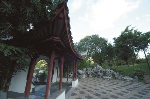Stock Photo: 4029R-79764 Kowloon Walled City Park