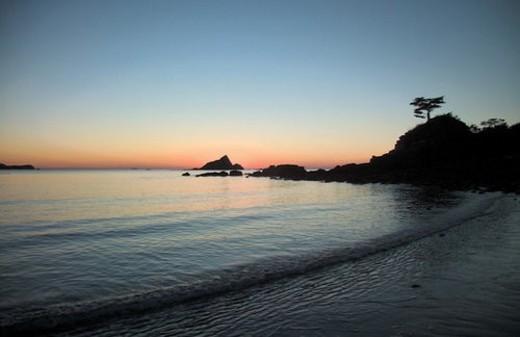 Stock Photo: 4029R-80068 beach, scenery, ocean, sea, landscape, sky