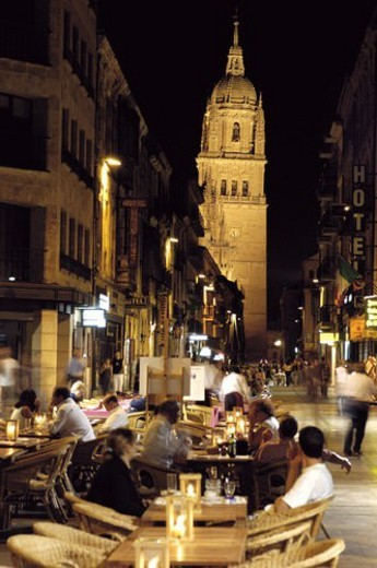 Spain, Castilla Leon, Salamanca, Cathedral, Architecture, Monument, Tower : Stock Photo