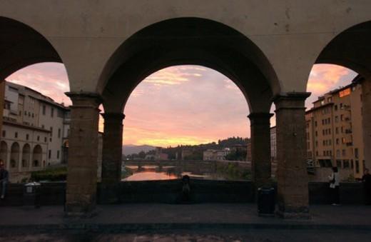 Ponte Vecchio - Florence, Italy : Stock Photo