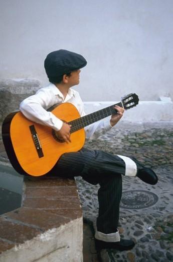 Spain, Andalucia, Andalusia, Cordoba, Street, Person, Boy : Stock Photo
