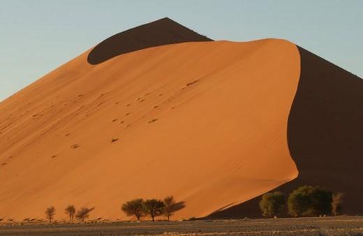 Stock Photo: 4029R-83836 Sand Dunes of Sossusvlei - Namib desert, Namibia